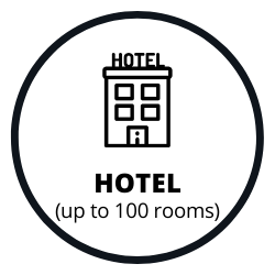 Hotel with 100 or less rooms