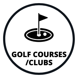 golf course/club join icon